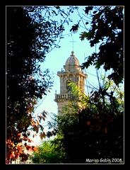 Campanario   (Serie La Alameda) (Marisa Gabín (*)) Tags: galicia acoruña betanzos nikone4600 laalameda marisagabín campanariostodomingo