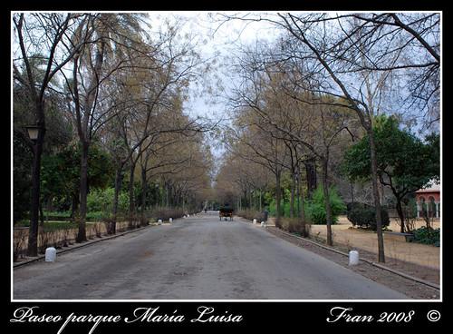 Paseo Parque María Luisa