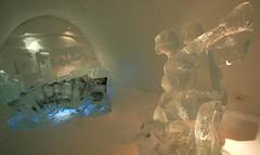 IMG_2857 (gezzajax) Tags: blue snow cold art ice water architecture reindeer design bed sweden freezing arctic e freeze lapland northern dogsledding kiruna icehotel arcticcircle jukkasjrvi snowmobil torne reindeerskin rivertorne