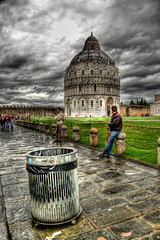 Pisa, Italy 1 - HDR (Ageel) Tags: travel sky italy clouds d50 photography nikon pisa explore hdr   explored  colorphotoaward ageel