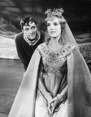 Arthur and Guinevere, 1967 (undomiel_fr) Tags: newyorkcity 2 people usa english love portraits costume outfit clothing manhattan performance performingarts performing romance fairy fantasy actress acting northamerica males prominentpersons actor british newyorkstate whites welsh females performer myth europeans richardburton costumeclothingandfashion julieandrews midatlantic halflengthportraits musicaltheater musicalperformance