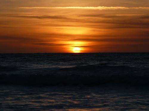 Baie d'Ecalgrain - Sunset