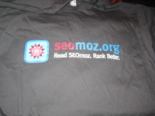 SEOmoz Shirt (1st Type)