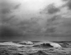 Beauty's dark and deep (Zeb Andrews) Tags: ocean sea bw film water clouds oregon landscape coast waves moody dramatic pacificocean pacificnorthwest capekiwanda bluemooncamera zebandrews zebandrewsphotography