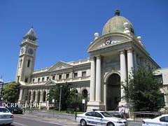 Post Office & Court House, Balmain NSW - 1887 (DBHKer) Tags: building architecture colonial columns australia clocktower campanile dome nsw newsouthwales pediment balmain