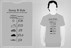 sunny f/16 rule t-shirt - black (spidermac) Tags: camera light sunset cloud sun white chart black film weather shirt speed 35mm t table photography photo exposure foto with cloudy you tshirt overcast sunny iso stop f use shutter always 16 mm asa 35 tee rule din climate meteo tees lightining esposizione fstop useful slightly diaphragm focal condition shirty millimeter heavily lenght overcase diaphram teez