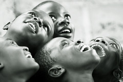 Looking to the Stars - Congo (anthonyasael) Tags: children happy star eyes congo asael firstgiving anthonyasael