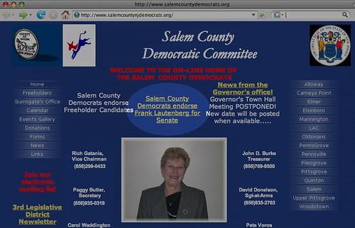 Salem Democrats endorse Lautenberg