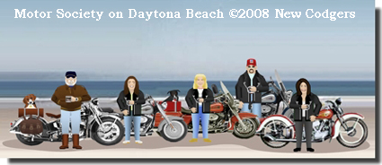 Danger Bay Motor Society ©2008 New Codgers