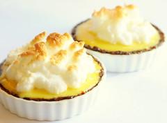 Lemon Cream Tart with Meringue-ish Top