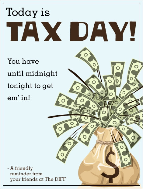Happy Tax Day from Quicken Loans!
