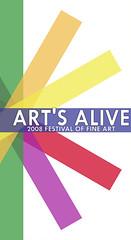 Art's Alive Festival Logo