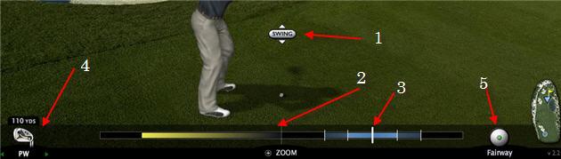 golf parametre