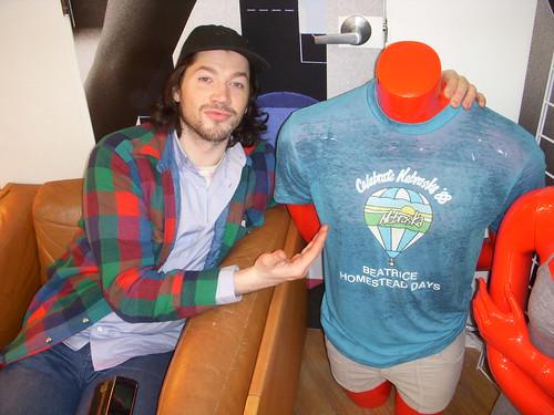 Nebraska shirt @ Park Slope AA