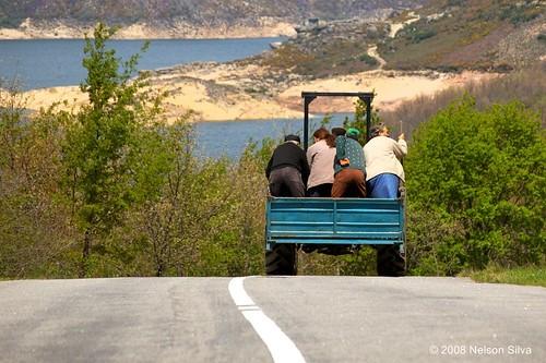 Public transportation in Gerês