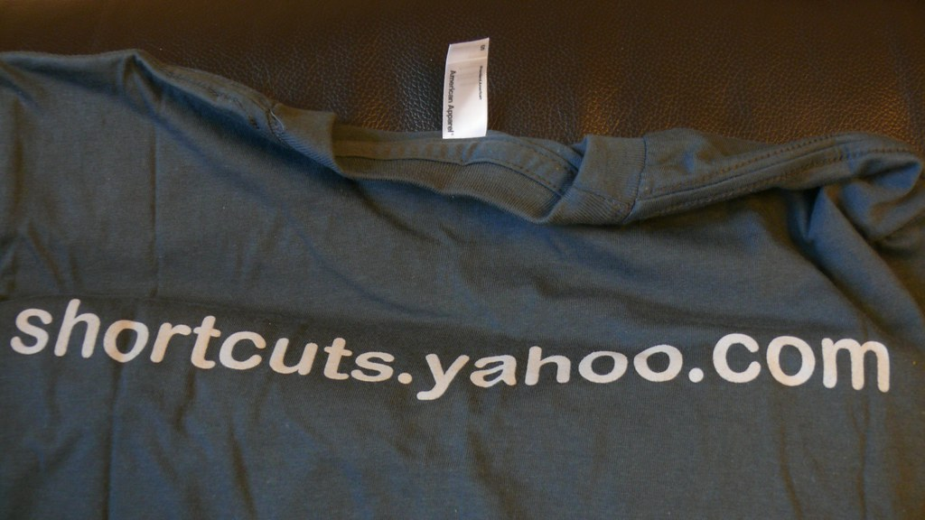 Free T-Shirt from Yahoo!