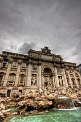 Trevi Fountain (MizterForbz) Tags: italy rome trevifountain 1020mm hdr forbzez 1020mmsigma