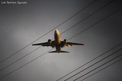 Enroscado (Luiz Henrique Assunção) Tags: canon airplane eos avião 2008 40d licassuncao