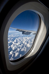 On the plane to Greece (Michael Rugosi) Tags: ocean blue sky clouds plane pacific greece