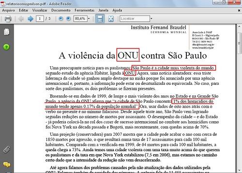 São Paulo cidade mais violenta do mundo por rafael-rj.