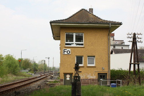 """Stellwerk """"Fo"""" in Fritzlar"""
