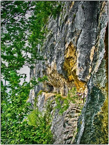 """Wandersteig in der """"Ewigen Wand"""""""