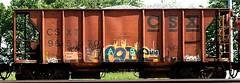 code (*crap*) (mightyquinninwky) Tags: dice geotagged graffiti code tag tags tagged crap sicks graff graphiti gravel paintedtrain railart kbt orecar geo:lat=37958986 geo:lon=87610517