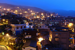 jiu fen village at night (leungchopan) Tags: city travel family light sunset house mountain home night sadness scenery village dusk district famous nine hill taiwan landmark spot tourist east nostalgic jiu fen attraction portions kee keelung chiu lung chiufen jiufen jioufen jiou gettyimagestaiwanq2
