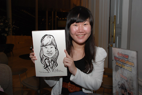 Caricature live sketching for Tetra 60th Anniversary - 14
