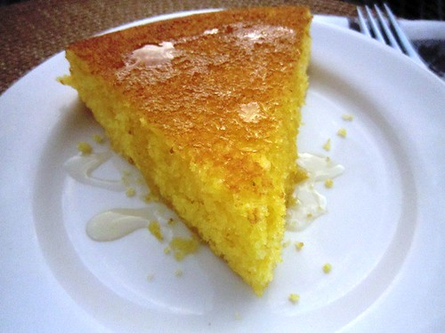 Slice of cornbread, take one