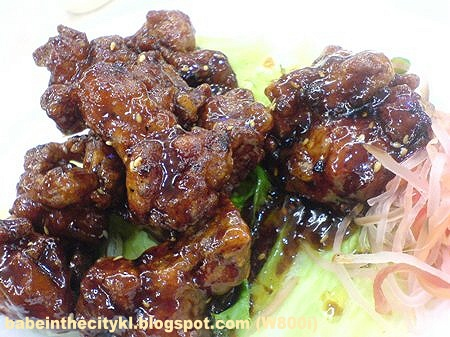 FHS - honeyed pork ribs RM9