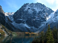 Dragon's tail, Lake colchuck and Asgaard Pass, Oct '07