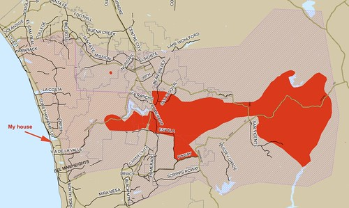 Most current map of the fire near my home