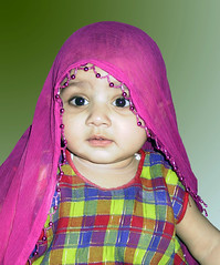 Maham, All Grown Up (remudada) Tags: portrait baby cute canon children g1