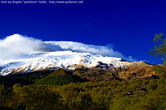 Prime nevi sull'Etna - First snowing on the Etna - NO HDR