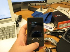 Day 3 - I finally got my Zune (Nick, Programmerman) Tags: s3 zune 365days zune80