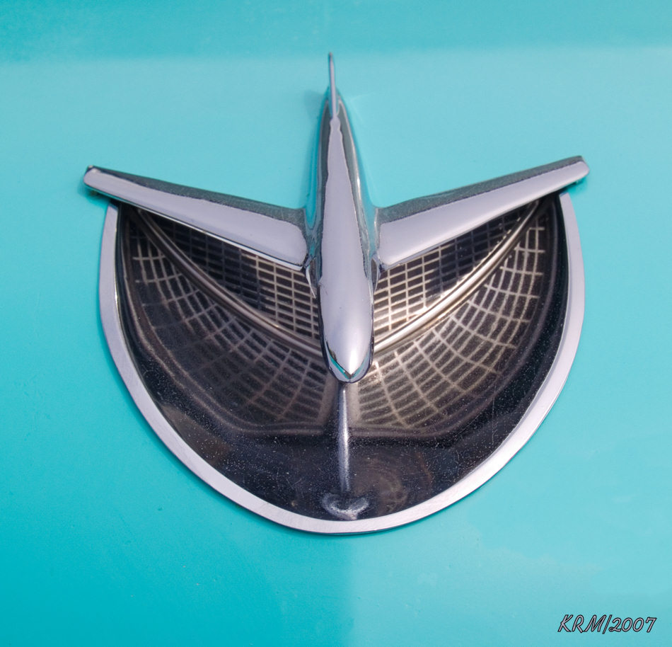 1956 Buick hood ornament