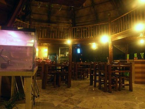 Inside of Antoine's Grill
