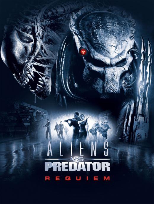 Poster de Alien vs Depredador 2