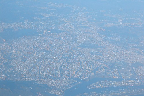 Kaohsiung City, Taiwan, From The Air