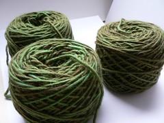 Organik yarn cakes 2