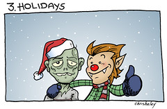 Werewolf vs Zombie : 3. Holidays