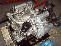Engine from Citron SM (regtur) Tags: auto holland classic cars netherlands dutch car french automobile citroen engine nederland sm voiture oldtimer sa maserati v6 doetinchem medion majest opron citrosars