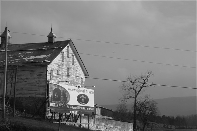 Pennsylvania, Barn and Billboard