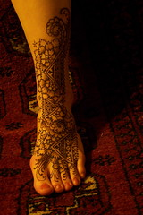 Emmas foot (ReMarkable Blackbird) Tags: wedding party india art festival tattoo fun cool interesting artist pattern play photoshoot gray maine culture newengland funky images unusual bridal henna studios mehendi ethnic blackbird mehndi hire nev remarkable porltand bridalhenna mehandi backbird remarkableblackbird