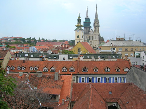 Zagreb, the Croatian capital