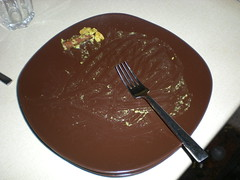 Empty plate!