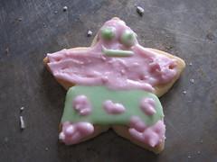 Patrick Christmas cookie