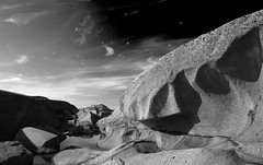 natural stone sculpture (H o g n e) Tags: ocean sea summer bw norway rock stone coast carved smooth shoreline glacier erosion shore geology archipelago rockformations vestfold carvedstone carvedrock smoothsurface smoothstone smoothrock havskren