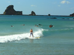 Surfing Maderas (Avi8orn8) Tags: travel beach water madera surf waves wave playa surfing pacificocean longboard ola maderas surfear nicaraguacentralamericalatinamerica